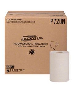 "MA-P720N TOWEL RL KRAFT 7.87X350 2"" CR MARCAL ""GS"" 12/CS"