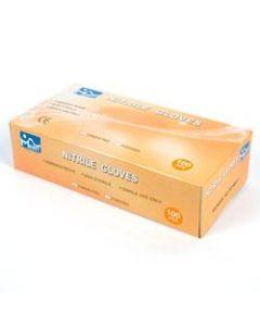 TX-N400-MEA GLOVE NITRL MED POWDER FREE LT.BLUE 3.5MIL NITRILE 100/BOX EA