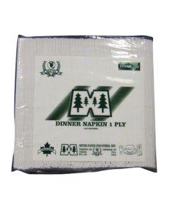 MT-DNAP12250 NAP DINNER WHT 1PLY 15X16 1/8FLD VISTA 3000/CS