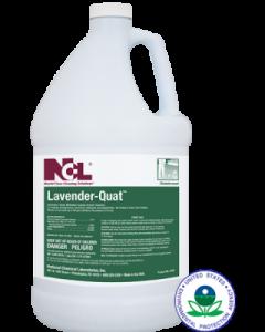NCL-0230 LAVENDER QUAT DISNFECT.CLNR 1GAL 4/CS