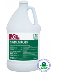 NCL-0275-29CT NEUTRA-CIDE 256 NEUTRAL DISINFECTANT CLEANER/DEODORIZER 4GAL, CS