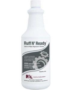 NCL-1071-36EA RUFF N' READY SPRAY & WIPE CLNR RTU 1QT, EA