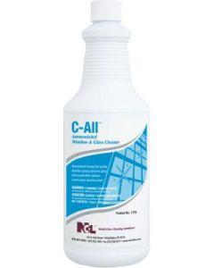 NCL-1316-36EA C-ALL AMMONIATED GLASS & WINDOW CLEANER 32oz EA