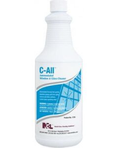 NCL-1316-36 C-ALL AMMONIATED GLASS & WINDOW CLEANER 32oz 12/CS