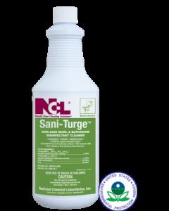 NCL-1711-45  SANI TURGE BOWL DISINF. CLNR 1QT, 12/CS