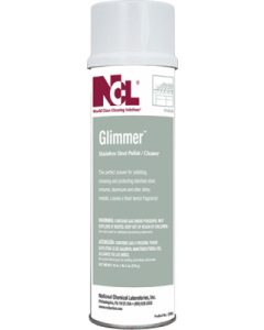 NCL-2006EA GLIMMER STAINLESS STEEL CLEANER 20oz. EA