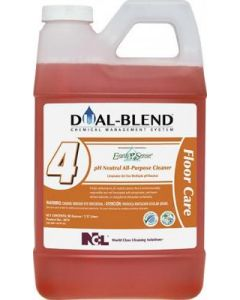 NCL-5074-24 NCL DUAL BLEND #4 EARTH SENSE pH NEUTRAL ALL PUPOSE CLEANER 80oz EA