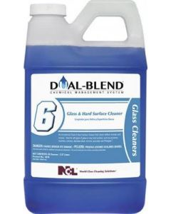NCL-5076 NCL DUAL BLEND #6 GLASS & HARD SURFACE CLEANER 80oz EA
