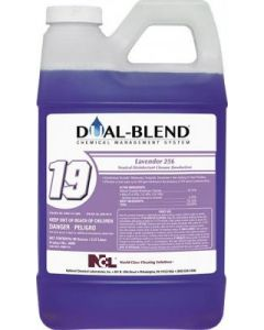 NCL-5089CT NCL DUAL BLEND #19 LAVENDER DISINFECTANT 256 80oz 4/CS