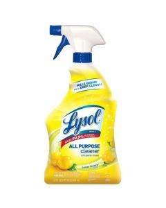 RB-75352CT LYSOL DISINFECTANT ALL PURPOSE CLNR LEMON 32oz 12/CS