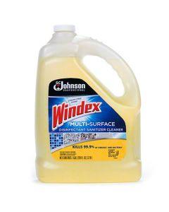 WINDEX DISINFECTANT & SANITIZER 1GAL EA