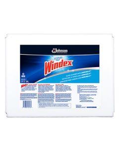 SCJ-696502 WINDEX GLASS CLEANER W/ AMMONIA 5GAL, EA