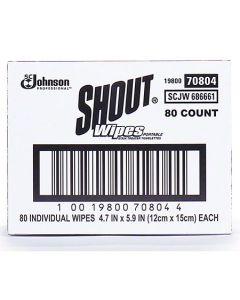 SCJ-686661 WIPE STAIN REMOVER SHOUT 80CT SCJ