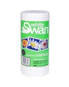 CD-01880 TOWEL KITCHEN PERF 2PLY 150SH 10.9X8.6 WHITE SWAN 24/CS