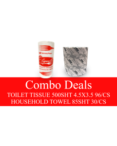 NP-TPHTCOMBO TOILET PAPER & HOUSEHOLD TOWEL COMBO DEAL