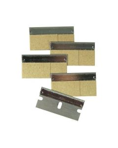 "UN-SRB30 UNGER SCRAPER BLADES 1"" 100/BOX, REPLACEMENT, EA"